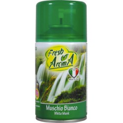 Fresh aroma deo ricarica muschio bianco - ml.250