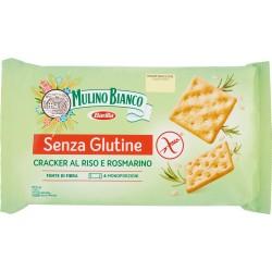 Barilla Mulino Bianco Senza Glutine Cracker al Riso e Rosmarino 200 g