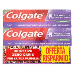 Colgate dentifricio max protection - ml.75 x3