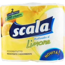 Scala assorbitutto limone x2 rotoli