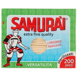 samurai stuzzicadenti doppia punta x200
