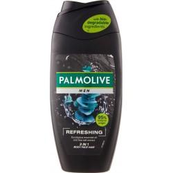 Palmolive doccia schiuma Men Refreshing 3in1 corpo, viso e capelli, 250 ml.