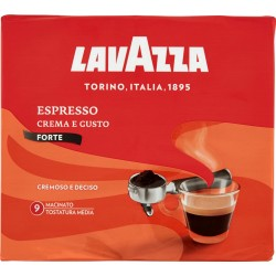 Lavazza caffe espresso forte - gr.250 x2