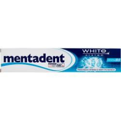 Mentadent dentifricio crystal gel ml.75
