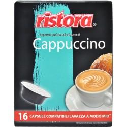 Ristora cappuccino capsule x16