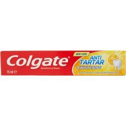 Colgate dentifricio Antitartaro + Whitening, aiuta a combattere il tartaro, 75ml