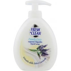 Fresh&clean sapone liquido seta lavanda - ml.300