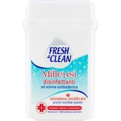 Fresh&clean salviettine disinfettanti x 40
