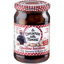 Le conserve della Nonna cipolline borettane all'aceto balsamico - gr.300