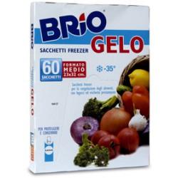 Brio sacchetti freezer cm.23x32x60