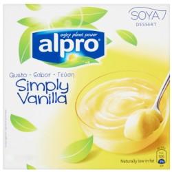 Alpro budino soia vaniglia - gr.125 x4