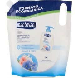 Mantovani sapone liquido ricarica talco - ml.750