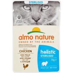Almo nature gatto sterilized pollo busta gr.70