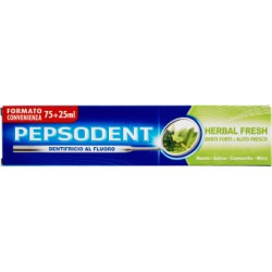 Pepsodent dentifricio herbal - ml.75+25