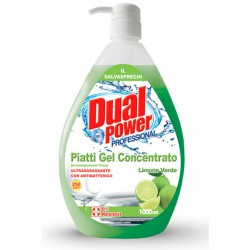 Dual power piatti gel limone con dispenser lt1