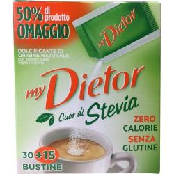 Dietor cuore naturale stevia buste x30