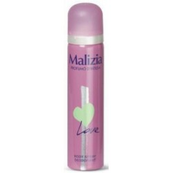 Malizia deo spray love - ml.75