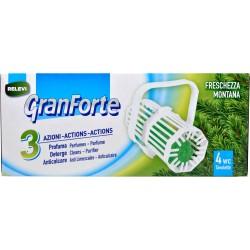 GranForte Tavolette WC Pino 4 x 33 gr.