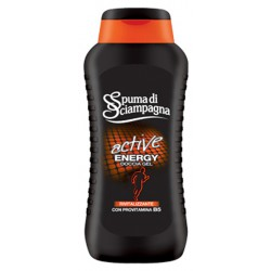 Spuma di Sciampagna doccia active energy ml.200