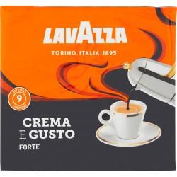 Lavazza caffe crema/gusto forte gr250 x2