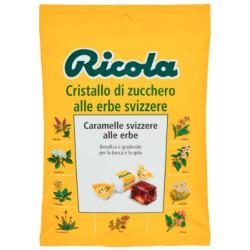 Ricola caramelle cristallo di zucchero alle erbe svizzere - gr.78