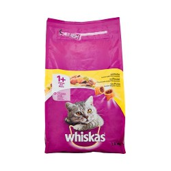 Whiskas crocchette adult 1+ pollo - kg. 1,4