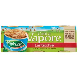 Valfrutta lenticchie vapore - gr.150 x3