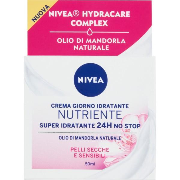 Nivea visage crema giorno idratante intensiva ml.50