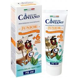Pasta del Capitano dentififricio junior menta dolce ml.75
