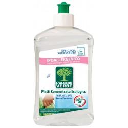 L'albero verde piatti concentrato pelli sensibili ml.500