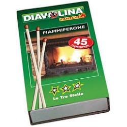 Diavolina fiammiferone diavolina maxi x45