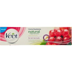Veet crema dep. naturalsgrape oil ml200