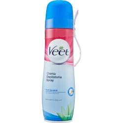 Veet crema depilatoria pelli sensibili spray - ml.150