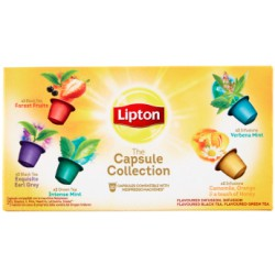 Lipton collection caps x10
