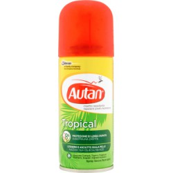 Autan tropical spray secco - ml.100