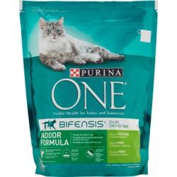 Purina one gatto crocchette tacchino - gr.800