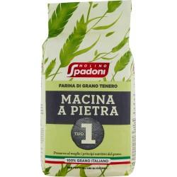 Molino Spadoni Farina di Grano Tenero Macina a Pietra Tipo 1 KG.1