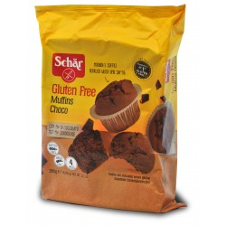 Schär Muffins Choco senza glutine 4 x 65 gr.