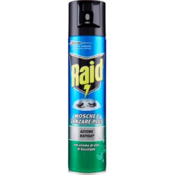 Raid mosche/zanzare spray eucalipto - ml.400