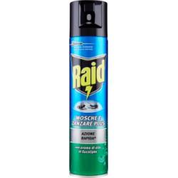 Raid mosche/zanzare spray eucalipto - ml.400