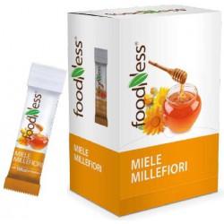 Foodness miele millefiori - gr.6 box x100