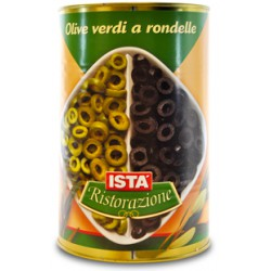 Ista olive verdi rondelle - gr.4150