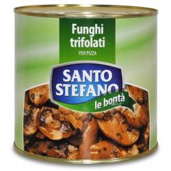 S. stefano funghi champignon trifolati per pizza - kg.2,5