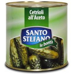 S. stefano cetrioli aceto 3/6 - kg.2,6