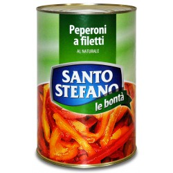 S. stefano peperoni a filetti - kg.4,10