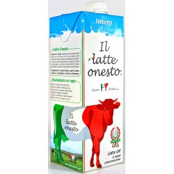 Il latte onesto intero lt.1