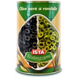 Ista olive nere rondelle - kg.4,15