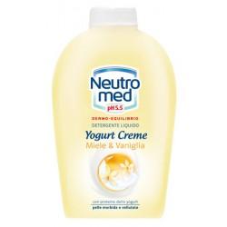 Neutromed sapone liquido ricarica yogurt miele - ml.250