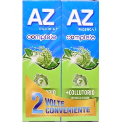 Az dentifricio complete freschezza delicata - ml.75 x2