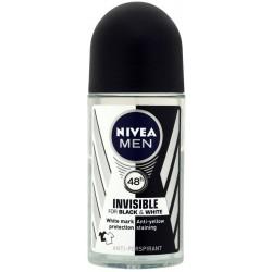 Nivea deo roll-on black/white men - ml.50